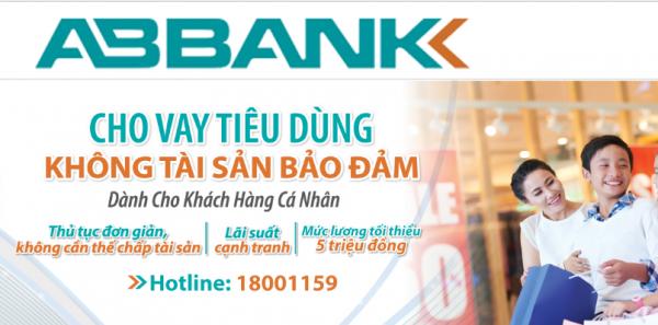 Đăng ký vay tín chấp ABBank (Ngân hàng An Bình)